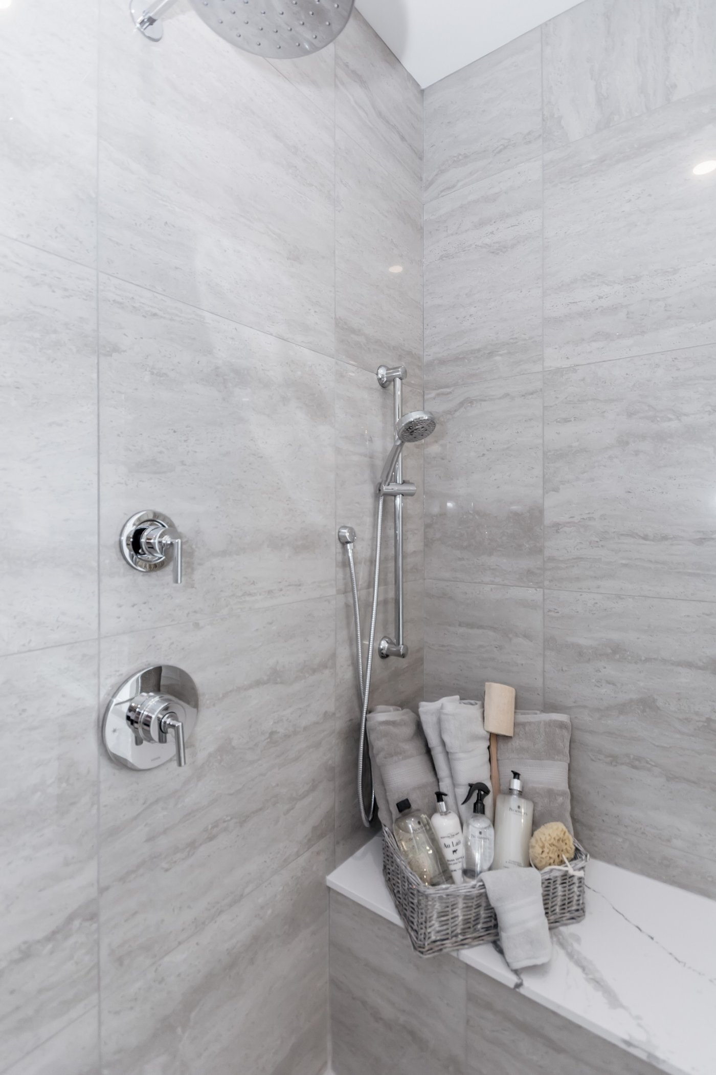 Contemporary Bathroom Shower