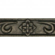 Clearance - FLORAL BORDER COPPER 1.25x8  79-022