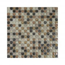 Clearance - GLASS MOSAIC GMB8S02 5/8x5/8  .