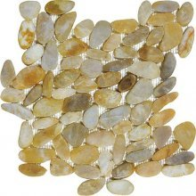 Clearance - ZEN PEBBLE FLAT TONGA SUNSET 12x12 POLISHED **dnr  76-357