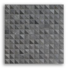 CIOT MUDMOSAIC INBOX 1 COAL 1x1 12X12 SHEET  MUDM2I1C