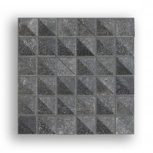CIOT MUDMOSAIC INBOX 2 COAL 2x2 12X12 SHEET  MUDM2I2C