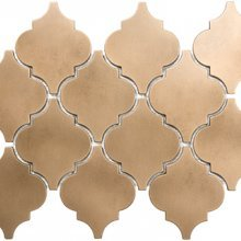 METAL MOSAICS SATIN BRONZE .x. LANTERN (UNSANDED GROUT)  79-169
