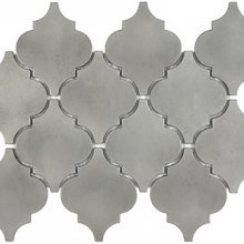 METAL MOSAICS SATIN PEWTER .x. LANTERN (UNSANDED GROUT)  79-170