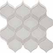 ELEMENT GLASS MIST 12.17x11.46 ARABESQUE MOSAIC  35-139