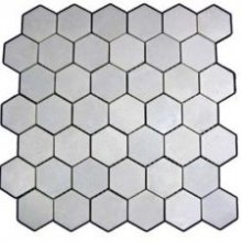 MARBLE WINTER WHITE HEXAGON 10 3/8x12 POLISHED (0.92 SF/SHT)  WW2HEX