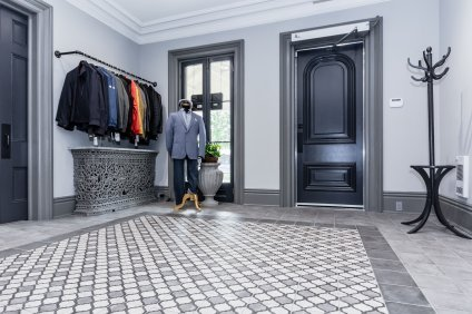 Accent Entrance Way Flooring