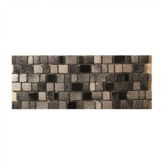 FANTASY CHARCOAL METALLIC GLAZE ON GLS 12x12 UNSANDED GROUT ONLY  OD.FS.CHA.1212